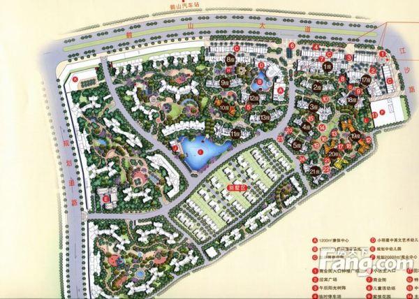 鹤山宝丰新城平面图